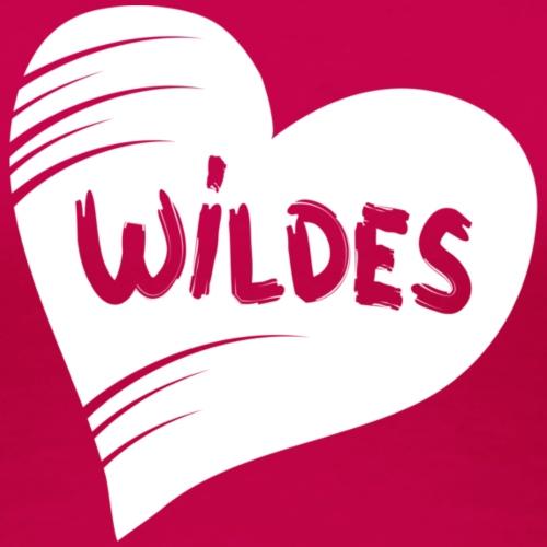 Herz Wild liebe weiss