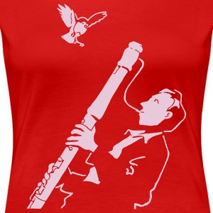 Red Sax Jazz T-Shirts - Women's Premium T-Shirt