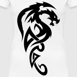 tribal dragon T-Shirts - Women's Premium T-Shirt