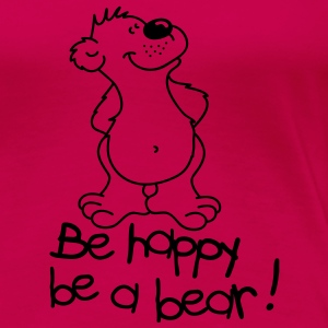 Happy bear! T-shirts - Premium-T-shirt dam