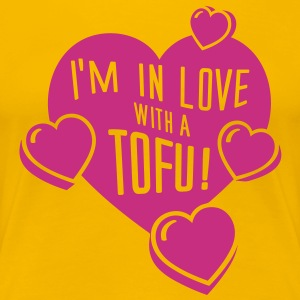 I'm in Love with a TOFU! - tiny T-Shirts - Frauen Premium T-Shirt