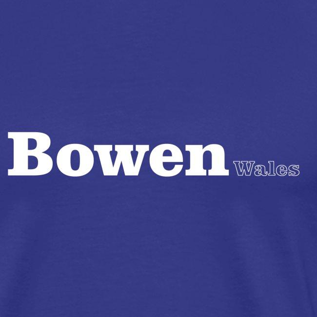 Bowen Wales white text