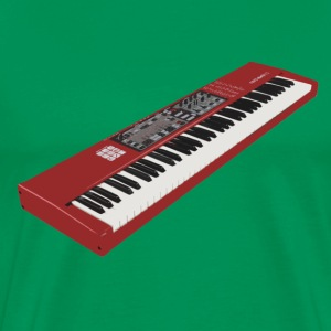 Synthesizer Electro Keyboard Design. T-Shirts - Männer Premium T-Shirt