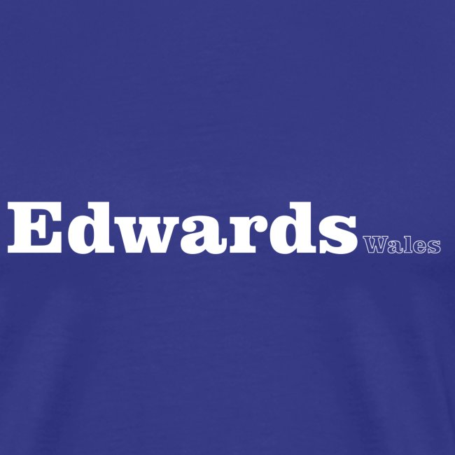 Edwards Wales white text