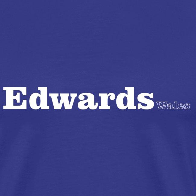 Edwards Wales white text