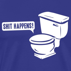 T-shirt, Shit happens - Premium-T-shirt herr