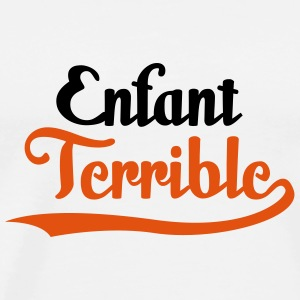 Enfant Terrible (2c)++ T-Shirts - Men's Premium T-Shirt