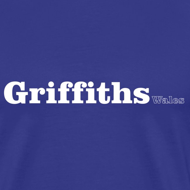 Griffiths Wales white text