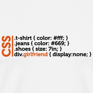 Css Clothes Girlfriend (2c)++ T-Shirts - Männer Premium T-Shirt