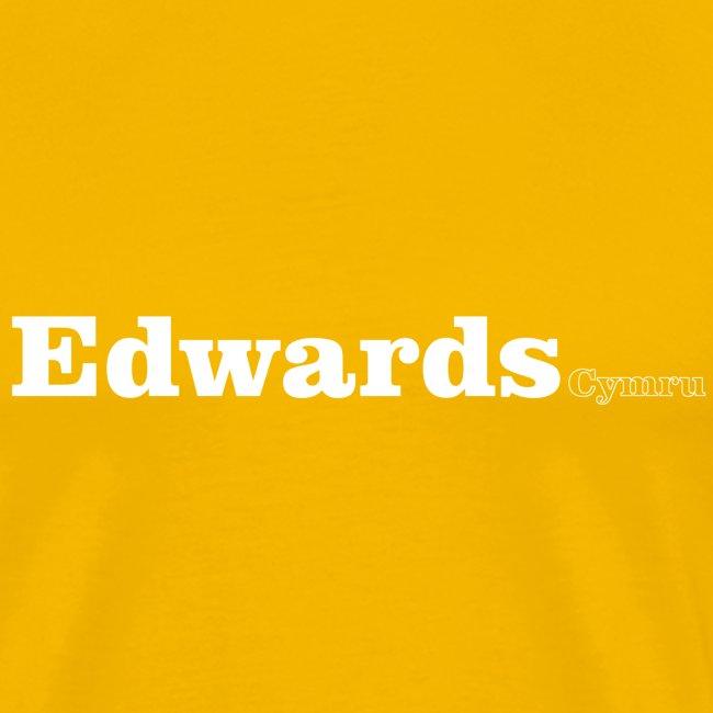Edwards Cymru white text