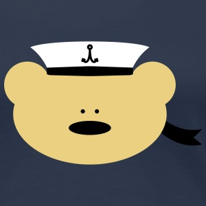 Teddy Bear Sailor T-shirts - Premium-T-shirt dam