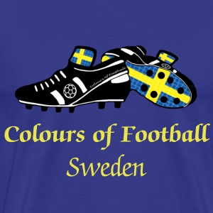 Colours of Fooball Sweden - Classic Tee - Men's Premium T-Shirt