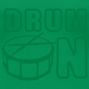 drum_on_a_1c T-Shirts - Frauen Premium T-Shirt