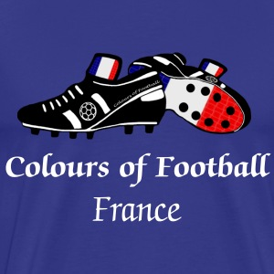 Colours of Fooball France - Classic Tee - Men's Premium T-Shirt