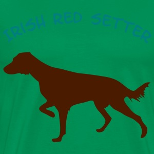 Irish Red Setter - Männer Premium T-Shirt