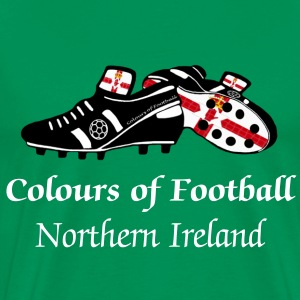 Colours of Fooball N.Ireland - Classic Tee - Men's Premium T-Shirt