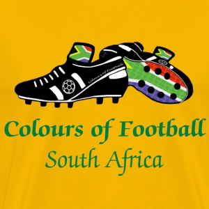 Colours of Fooball South Africa - Classic Tee - Men's Premium T-Shirt