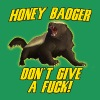 Honey Badger Don't Give A Fuck T-Shirts - Men's Premium T-Shirt