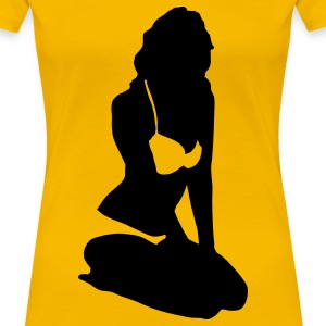 Supermodel - Frauen Premium T-Shirt