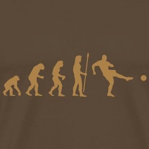evolution_soccer1 T-Shirts - Men's Premium T-Shirt
