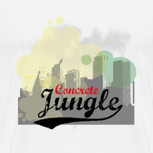 concrete jungle T-Shirts - Men's Premium T-Shirt
