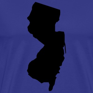 new jersey usa T-shirts - Herre premium T-shirt