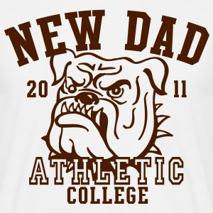 NDC New Dad Athletic College Shirt BK - Men's T-Shirt