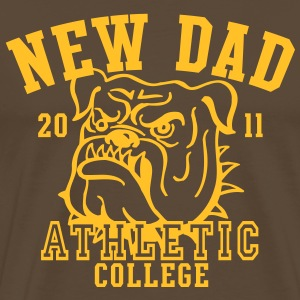 NDC New Dad Athletic College Shirt YB - Men's Premium T-Shirt