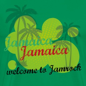 welcome to jamrock  T-Shirts - Männer Premium T-Shirt