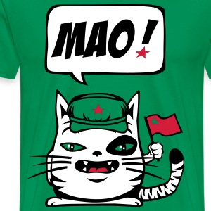 Chat communiste - T-shirt Premium Homme