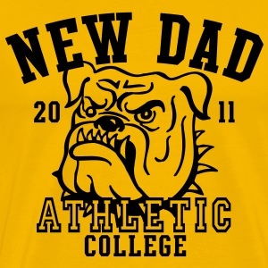 NDC New Dad Athletic College Shirt BY - Männer Premium T-Shirt