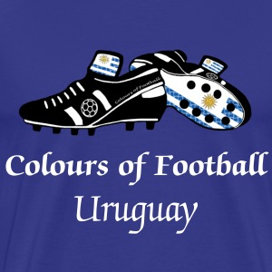 uruguay_colours_of_football T-Shirts - Men's Premium T-Shirt