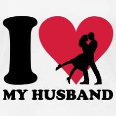 I love my Husband T-Shirts