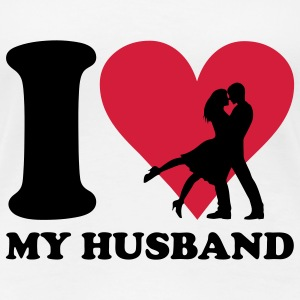 I love my Husband T-Shirts - Frauen Premium T-Shirt