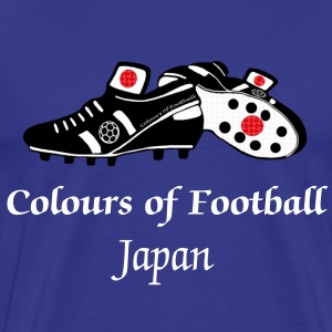 japan_colours_of_football T-Shirts - Men's Premium T-Shirt