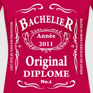 BACCALAUREAT BY TEESHIRTABLE T-shirts - T-shirt Premium Femme