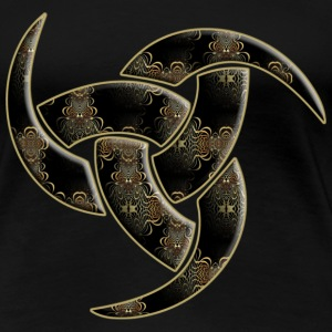 Triple Horn Of Odin - Ornament inside | Frauenshirt XXXL - Frauen Premium T-Shirt