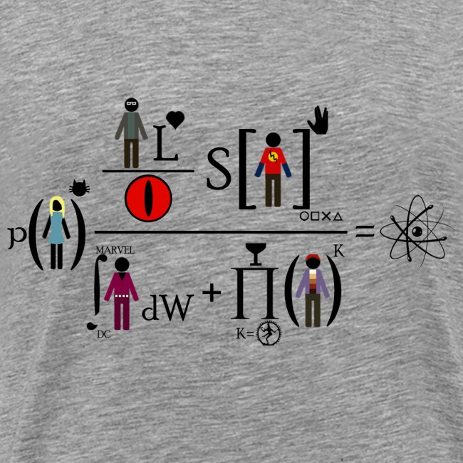 The Big Bang Theory - equation