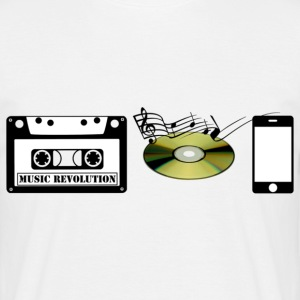 music revolution - Männer T-Shirt