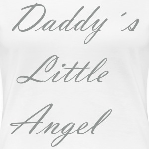 Daddy´s Little  - Frauen Premium T-Shirt