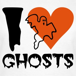 Wit Halloween - Ghost T-shirts - Vrouwen T-shirt