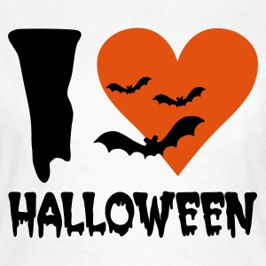 Weiß Halloween T-Shirts - Frauen T-Shirt