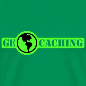 Geocaching - 2colors - Men's Premium T-Shirt