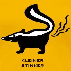 stinktier stinker stinkerchen skunk tier T-Shirts - Frauen Premium T-Shirt