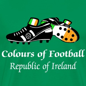Colours of Fooball Rep of Ireland - Classic Tee - Men's Premium T-Shirt