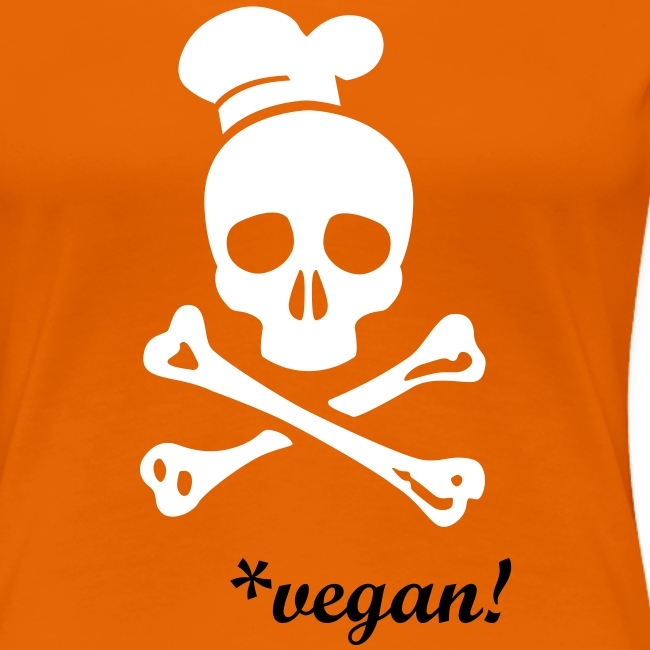 WOMENS Shirt 'CANNIBAL CATERING vegan' vec2