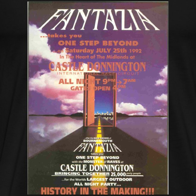 Fantazia One Step Beyond Flyer t-shirt