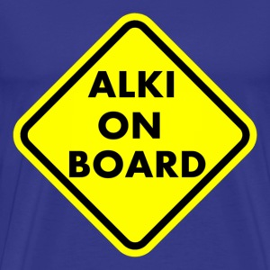 ALKI ON BOARD T-Shirts - Männer Premium T-Shirt