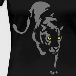 Panther T-Shirts - Frauen Premium T-Shirt