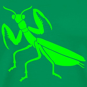shirt praying mantis mantid insect grasshopper - Men's Premium T-Shirt